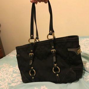 Coach Canvas Handbag